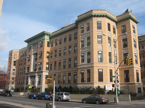 This building has been converted into an apartment complex.